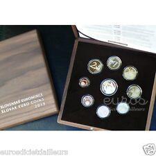 Coffret Super BE Slovaquie 2013 - Série1 cent à 2 euros - Qualité Belle Epreuve