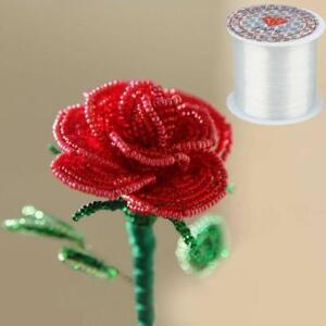 1 Roll Elastic Beading Thread Bracelet Making Jewelry Craft DIY N2Q6
