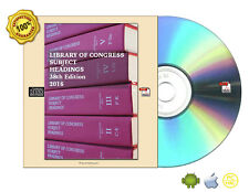 Library of Congress Subject Headings, 38th Edition, Complete CDROM