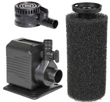 Beckett Crystal Pond Dual Purpose Pond and Fountain Pump with Pre-Filter