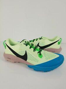 Nike Air Zoom Terra Kiger 6 Volt Black Green Men Trail Running CJ0219-700 Sz 15