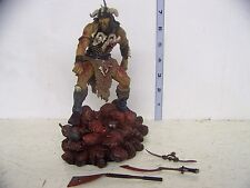 McFarlane Faces of Madness Attila the Hun Figure with base LOOSE