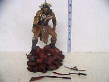 McFarlane Faces of Madness Attila the Hun Figure with base LOOSE