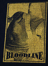 XL * vtg 90s 1992 BLOODLINE nemesis CAN'T REST ON THE TIMES hardcore t shirt