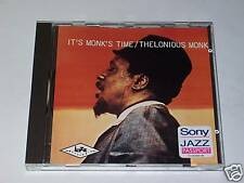 CD - THELONIOUS MONK - IT'S MONK'S TIME - Columbia