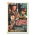 The Good The Bad The Ugly Movie Artwork Home Poster Film Wall Art Print Picture