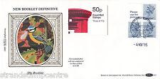 1985 50p Booklet - Benham D33 - Windsor H/S