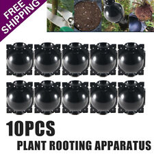 10pcs Plant Growing Grafting Rooting Devices Box High Pressure Propagation Ball