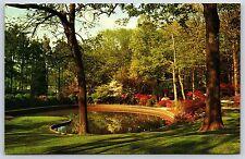 Glencairn Gardens in Rock Hill, South Carolina York County Chrome Postcard New