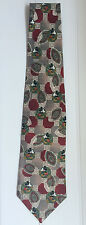 Disney And Co. Mickey Mouse 100 % Silk Tie made in Italy