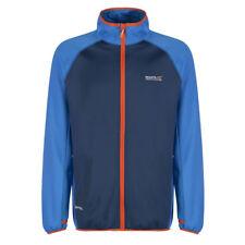 Regatta Fleece Jacket Dalehill Lightweight Hiking Working Stretch Gym Top Blue