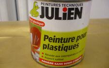 JULIEN PEINTURE POUR PLASTIQUES SANS SOUS COUCHE FRAMBOISE