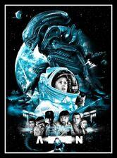"4.75"" Alien horror movie vinyl sticker. Classic 80's Sci-fi movie decal."