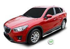 MAZDA CX-5 CX5 2011-2016 Side bars CHROME stainless steel side steps PAIR