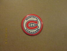NHL Montreal Canadiens Vintage 1970's Pinback Button