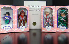 Effanbee WIZARD Of OZ Patsyette Dolls (4) Munchkin Flying Monkey Mayor Majorette
