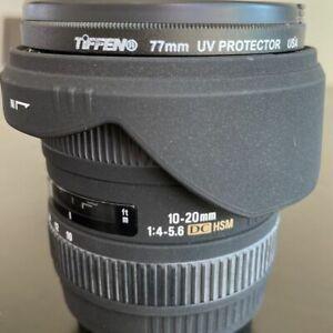 SIGMA EX 10-20mm f4-5.6 DC HSM Canon EF/EOS