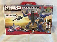 Transformers Kre-O Starscream Kreon Collection 1 Combinations Hasbro 43 Pieces