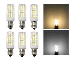 6pcs E12 Candelabra LED bulb C7 5W 64-2835 SMD AC DC 12V Garden Landscape Light