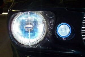 Blue Halo Fog Lamps Light Kit for Ford Mustang Eleanor Shelby GT-500 Fastback