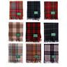 New Fringe Wool Scottish Cosy Wooly Tartan Knee Rug - Choice of Over 15 Tartans