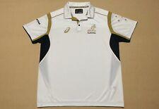 Asics Wallabies Australia Polo Shirt Mens ~ XXL ~ Player Gear Short Sleeves Top