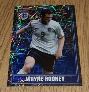 Merlin England World Cup 2006 Wayne Rooney Large Foil football Sticker #157