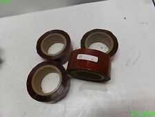 "4 Rolls: 2"" Wide Red Tape Hg5342 34876"