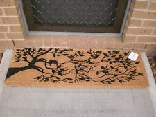 Birds In Tree - Quality, Thick & Wide 100% Natural Coir Door Mat