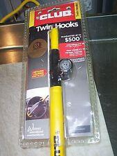 The Club 3000 Twin Hooks Steering Wheel Lock, Black/Yellow Brand New Sealed
