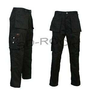 """Mens Cargo Holster Multi Pockets Combat Work Trousers Pants Bottoms Size 30""""-50"""""""