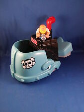 Fisher Price Great Adventure Pirate Mighty Mouth Whale set