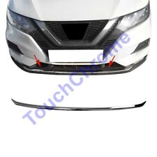 Fits Nissan Qashqai J11 2017Up Chrome Front Bumper Streamer 1Pcs S.Steel