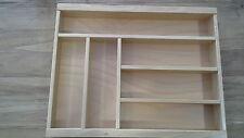 Holz Besteckkasten Besteckeinsatz Küchenschublade 45er Größe ALNO WELLMANN PINO