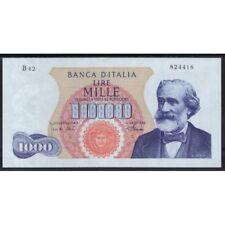 1968 01 04 BILLET DE BANQUE LIVRES 1000 GIUSEPPE VERDI 1 MODÈLE MEDUSA R2 QFDS