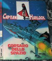 LIBRO VINTAGE ANIME TV ANNI 80 MATSUMOTO,CAPITAN HARLOCK IL CORSARO DELLO SPAZIO