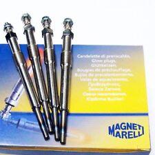 4 x Glühkerze Magneti Marelli PEUGEOT 407 2.0 HDi 607 2.0 HDi 2.2 HDi