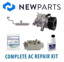 Jeep Grand Cherokee 3.7L 05-07 Complete A/C Repair Kit New Compressor w/ Clutch