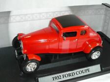 Ford Coupe 1932 Rot Hot Rod Oldtimer 1/18 Motormax Modellauto Modell Auto