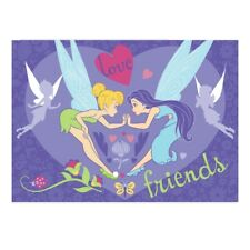 Kinder Teppich Tinkerbell 133 x 95 cm Teppich Disney Freunde