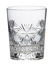 Snowflake Wishes Happiness Double Old Fashion Waterford Glass 8th Edition  NIB