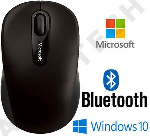 Microsoft BLUETOOTH 3600 Black Wireless BlueTrack Optical Mouse / PC Laptop MAC