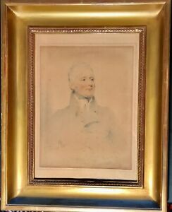 Portrait of Thomas Powys 2nd Baron of Lilford by Joseph Slater master drawing