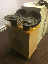 1 Bozak E-300/302 Speaker plus 4 Bozak B199 & 8 B200y Speakers Working.