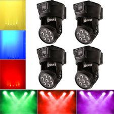 4PCS RGBW 70W LED DMX512 DJ Disco Xmas Party Club Light Moving Head Stage Light