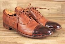 Officine Creative RARE $600+ Handmade Bubble Rubber Cap Toe Oxford Shoes 41 NEW