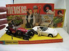 CORGI GIFT SET 40 GS40 THE AVENGERS BENTLEY LOTUS ELAN original set