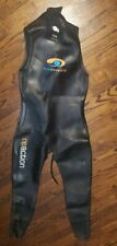 Pre-owned Iron Man Reaction Blue Seventy Sleeveless Wet Suit Size ML
