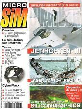 Micro Simulateur -26- Février 1996, Jetfighter III, Laser Match Racing,...