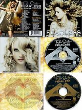 "SWIFT T *VG+* ""FEARLESS"" 2009 US TARGET PLATINUM CD/DVD CLEAR CHANNEL ACOUS 2008"